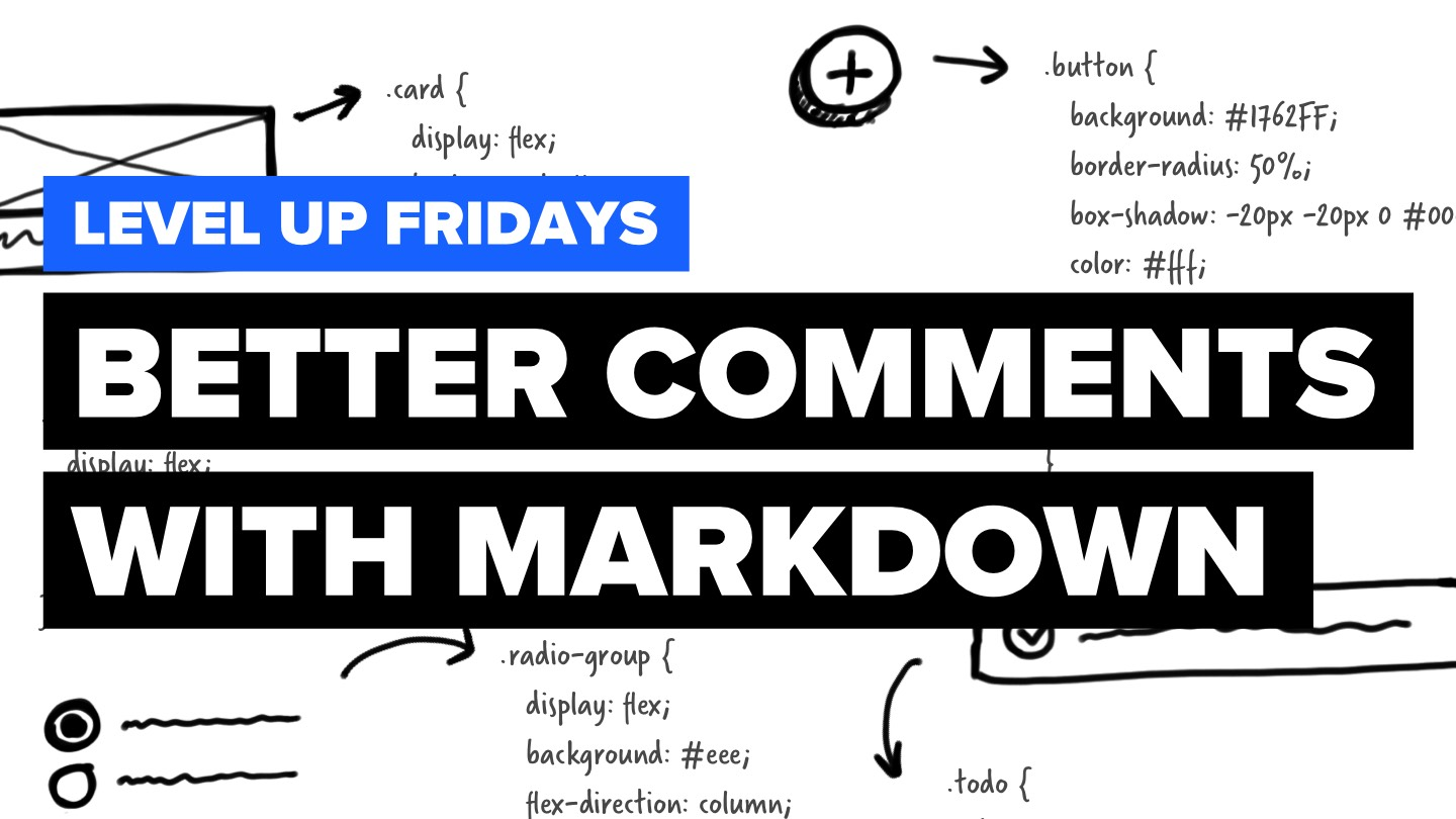 Better commments with markdown teaser